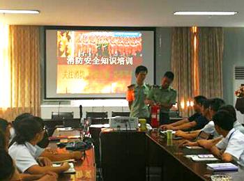 消防演习进意华,齐抓共管筑安全